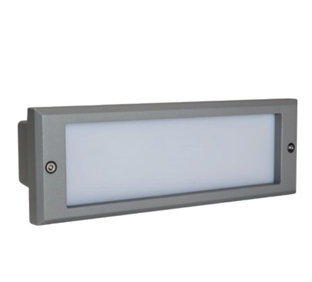 Emergency luminaire for stairs
