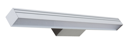 Surfaced LED luminaires on wall – separate mounting