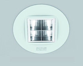 The downlights with anti-glare optics