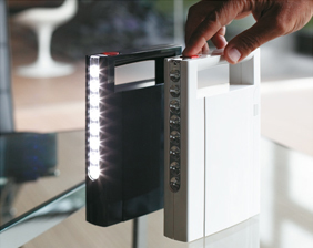 Rechargeable anti black-out LED lights