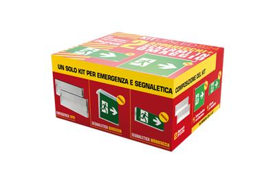 Plafoniere Con Gruppo Di Emergenza : Pannello led e kit di emergenza per i dispositivi sms elettricoplus