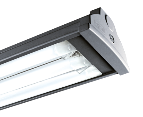 Industrial luminaires T5 and T8 for extreme ambient temperature