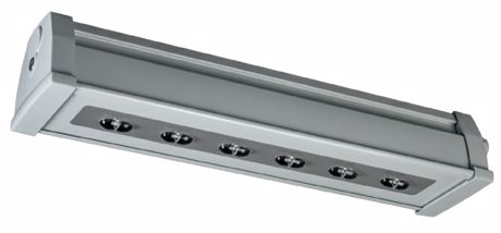 High protection class emergency luminaire with high impact strength