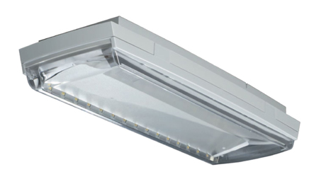 High protection class emergency luminaire